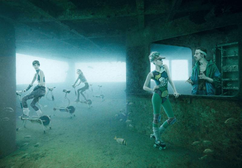 Hidup di bawah laut?