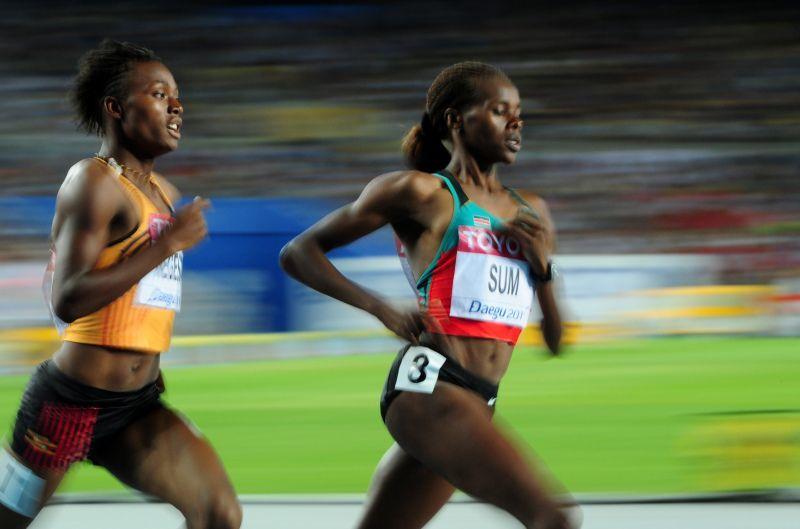 Annet Negessa, atlet lari Uganda