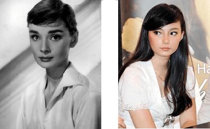Audrey Hepburn dan Asmirandah