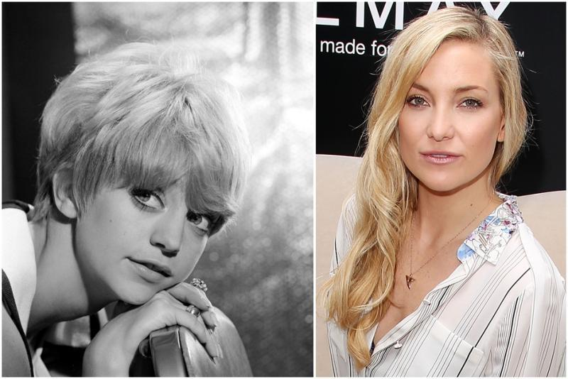 Goldie Hown-Kate Hudson