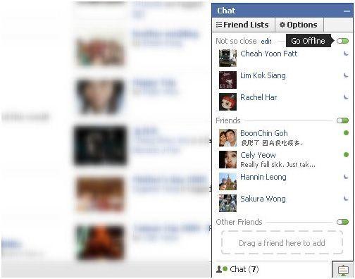 Lists Facebook