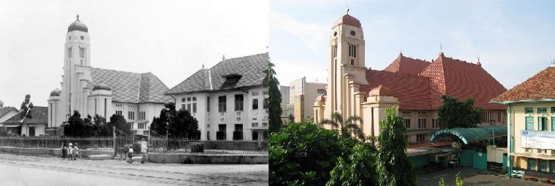 St. Josef Dulu dan Sekarang