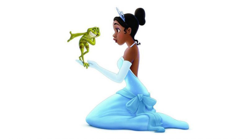 Tiana and The Frog