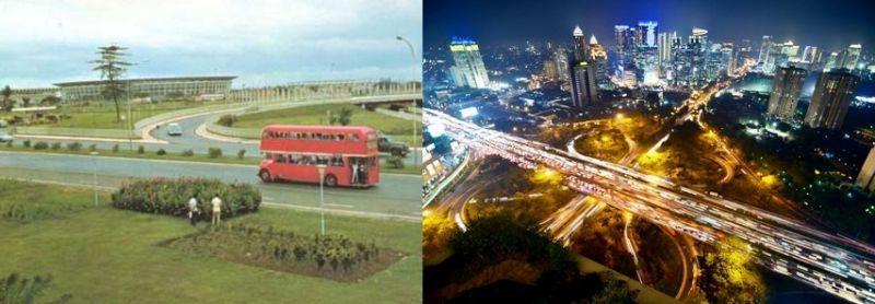 Jembatan Semanggi, Dulu dan Sekarang
