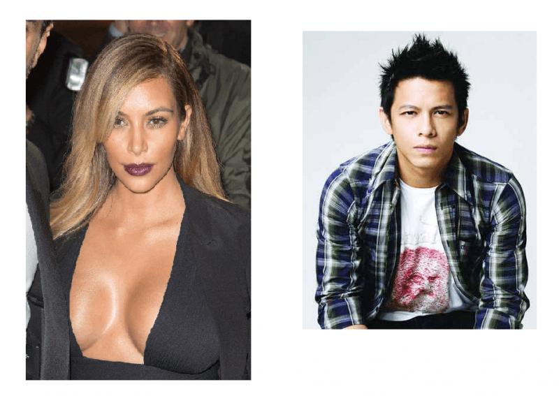 Kim Kardashian dan Ariel 'Noah'