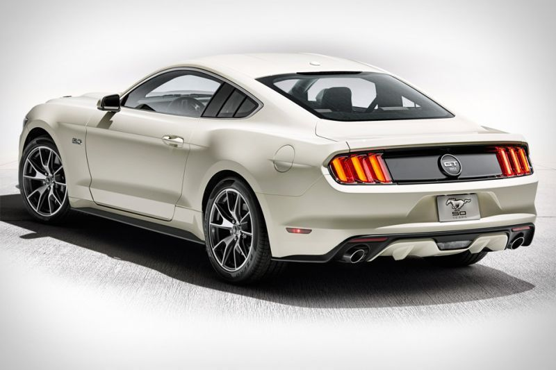 Ford Mustang 50th Anniversary Edition