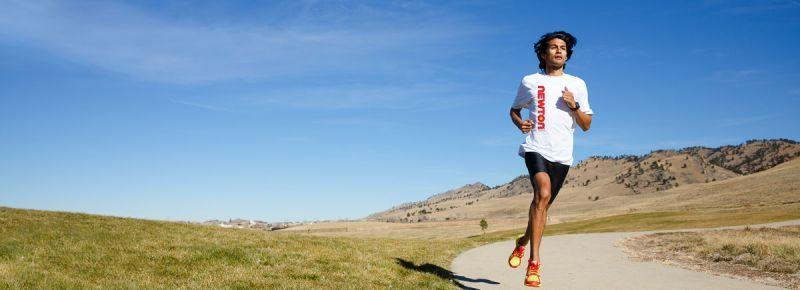 Lari ataupun jogging adalah olahraga yang paling mudah