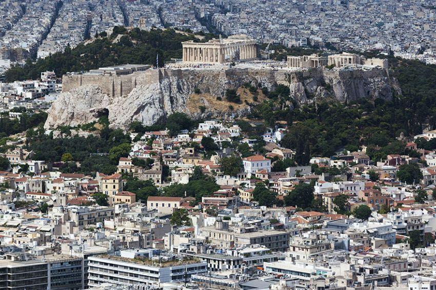 Acropolis dari kejauhan