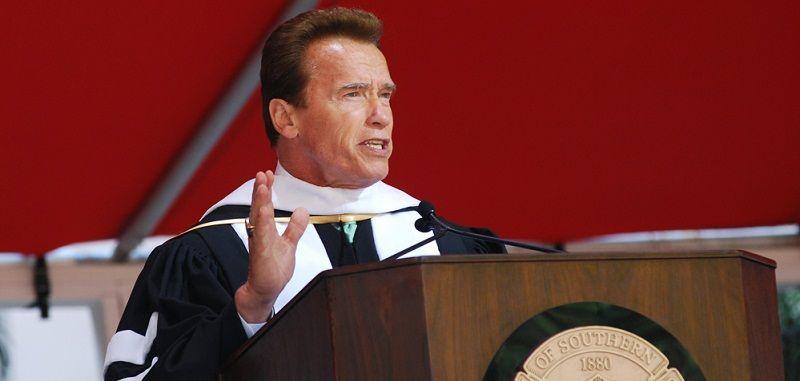 Arnold Schwarzenegger di USC