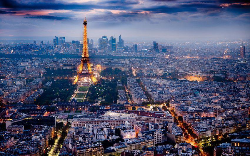 Pemandangan kota Paris