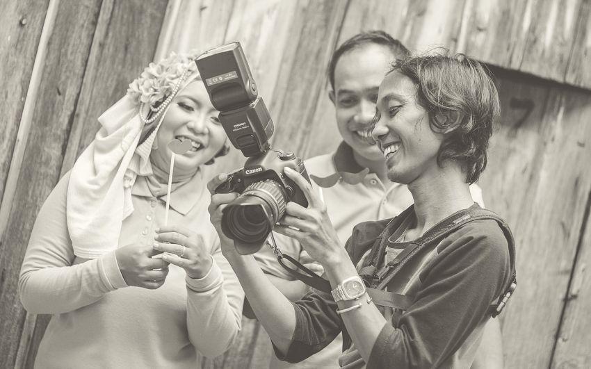 Jadi fotografer pre-wed