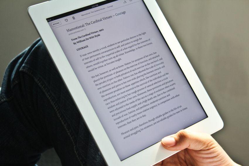 Membaca e-book