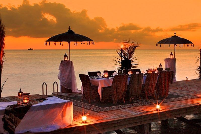 Senja di Musha Cay