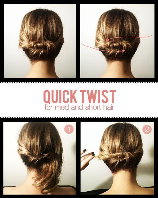 Ide Tatanan Rambut Yang Anggun Dan Praktis - Tutorial hairstyle untuk rambut tipis