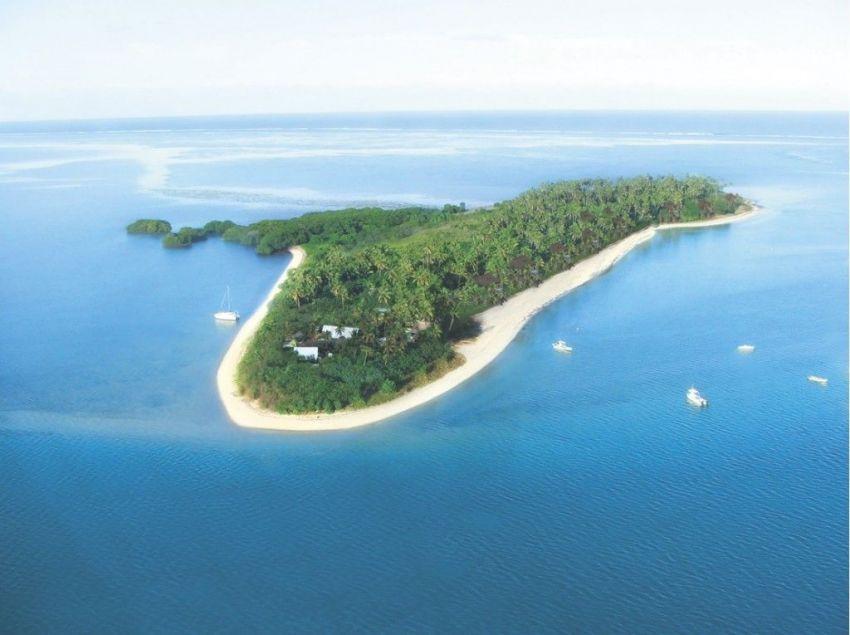 Pulau Robin Crusoe dari udara
