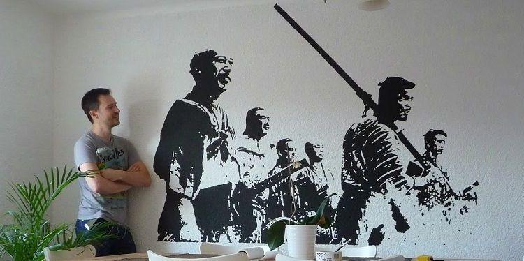 Cara Keren Melukis Dinding Tanpa Harus Bisa Menggambar