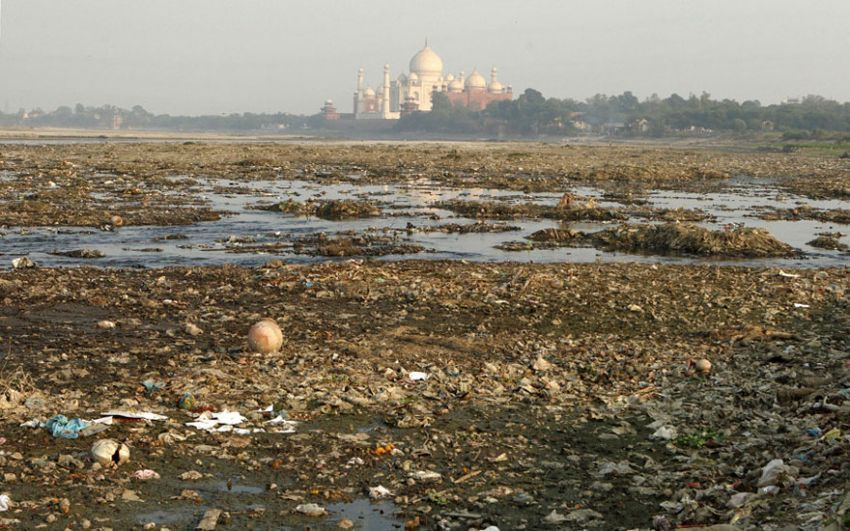 Taj Mahal masih tetap cantik jika begini?