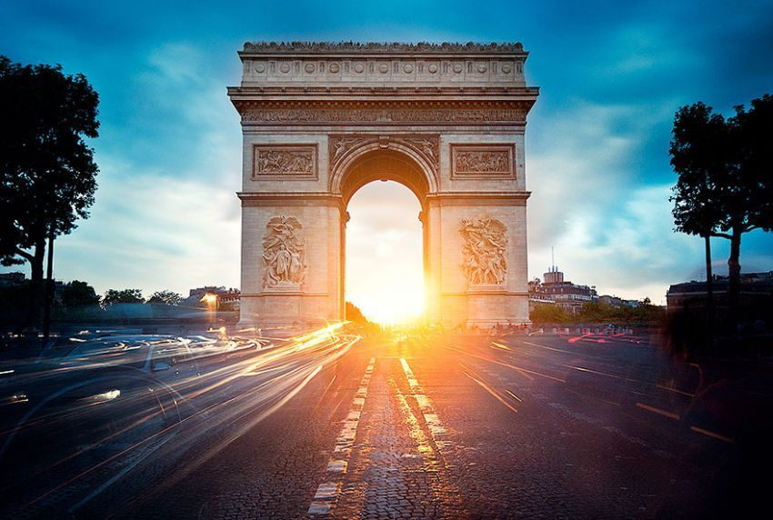 The Arc de Thriomphe