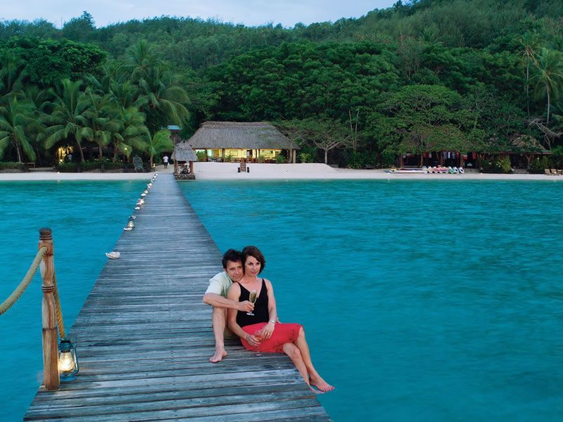 Romantisme di pulau turtle