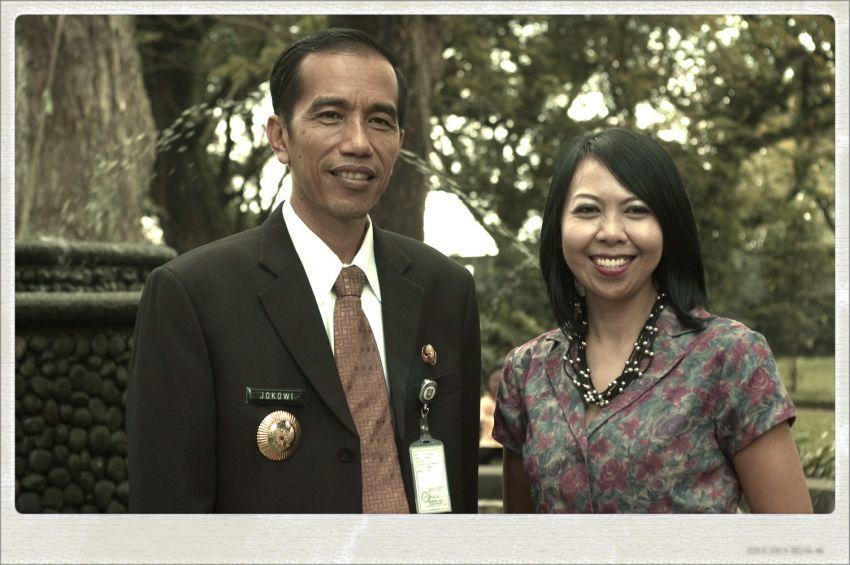 AE dan Jokowi