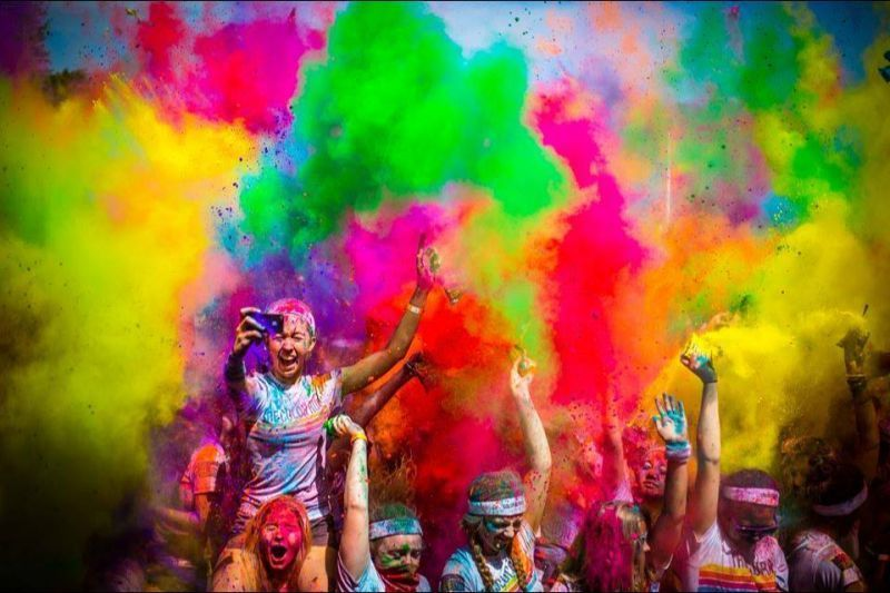 Bermain dengan warna