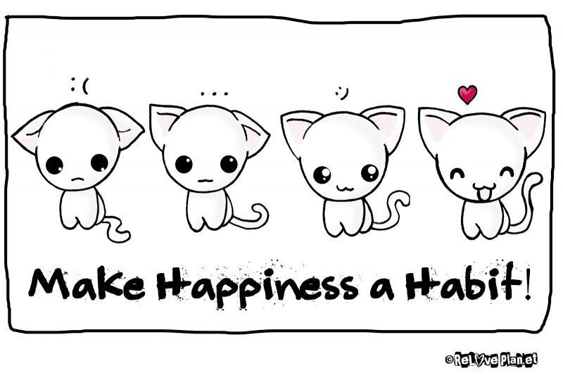 Kebiasaan bahagia