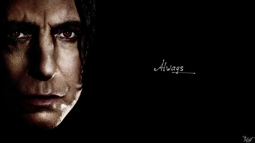 Dia mencintaimu seperti Snape mencintai Lilly