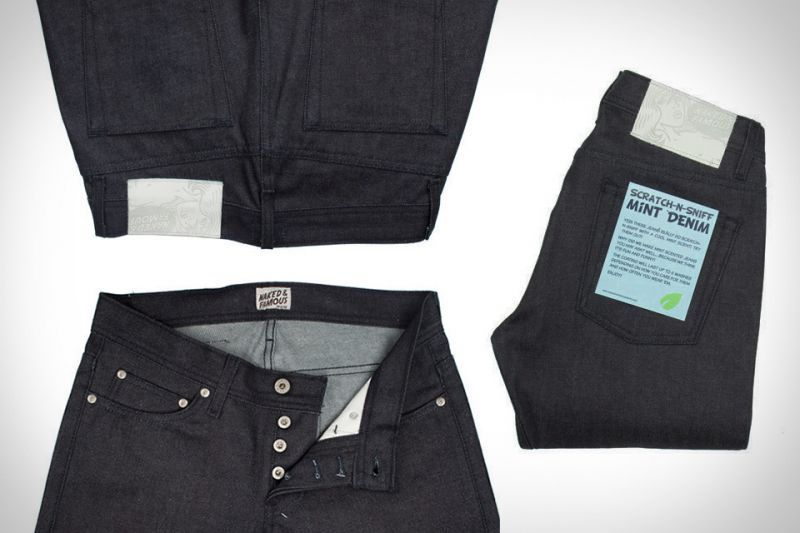 Naked& Famous Mint Jeans