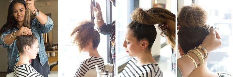 top knot process