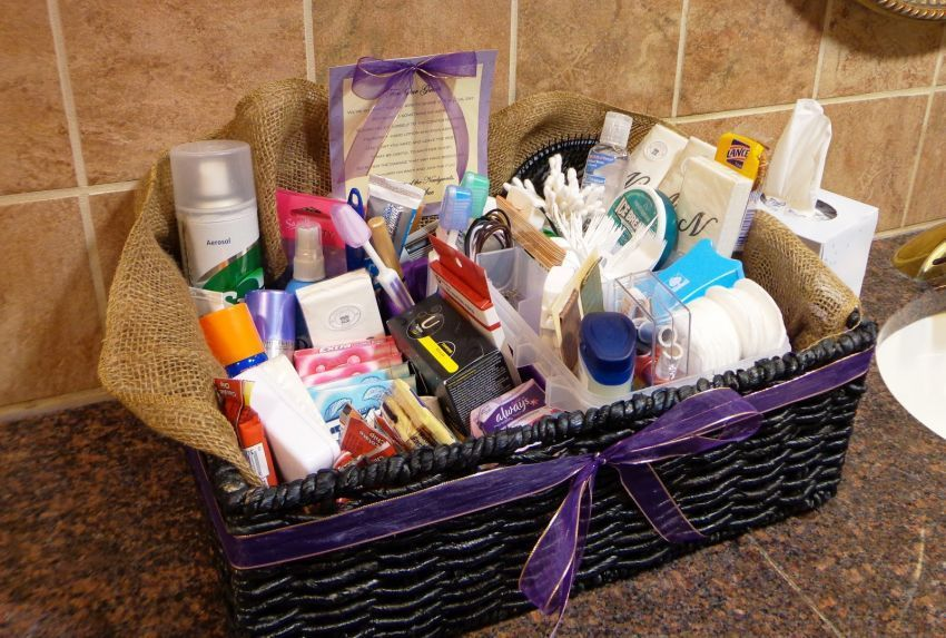 Barang-barang di kamar mandi cewek