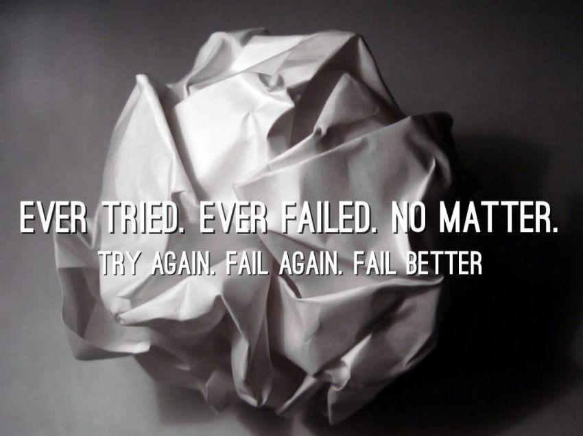 Gagal gak masalah, coba terus sampai berhasil