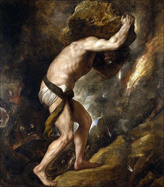 """We must imagine Sisyphus happy."""