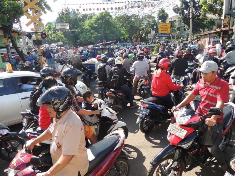 Kondisi lalu lintas kita yang kacau balau