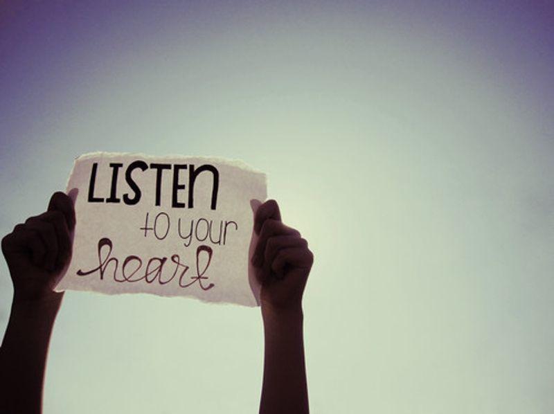 dengarkan kata hati