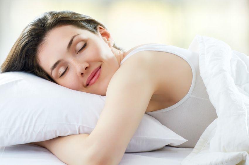 Tidur pun sambi senyum