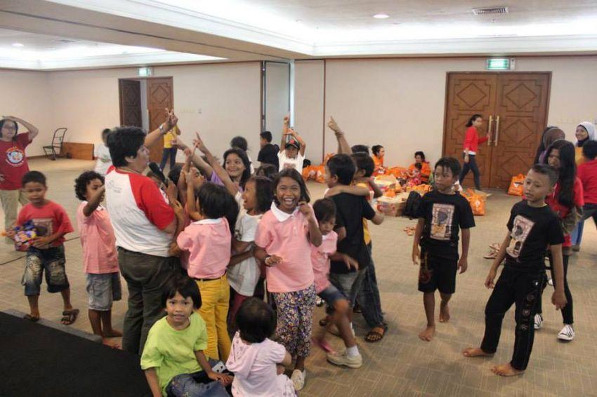 Kegiatan oleh Yayasan Sahabat Anak