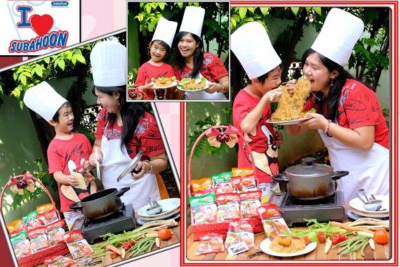 masak bersama anak