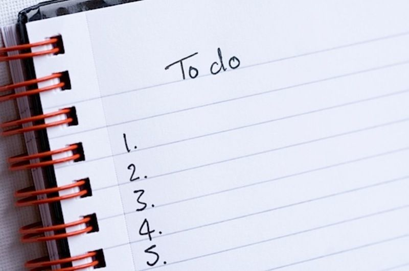 buat to do list!