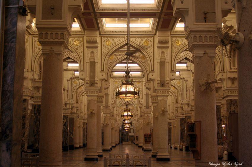 interior masjidil haram