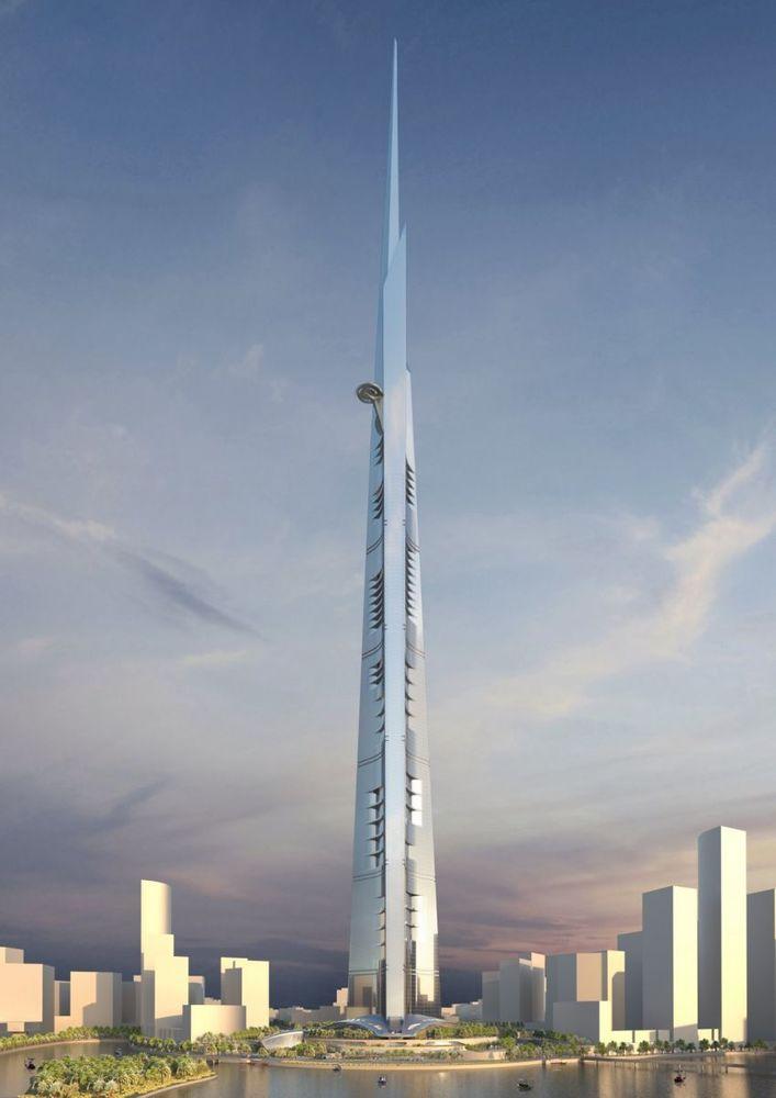 Calon gedung tertinggi di dunia