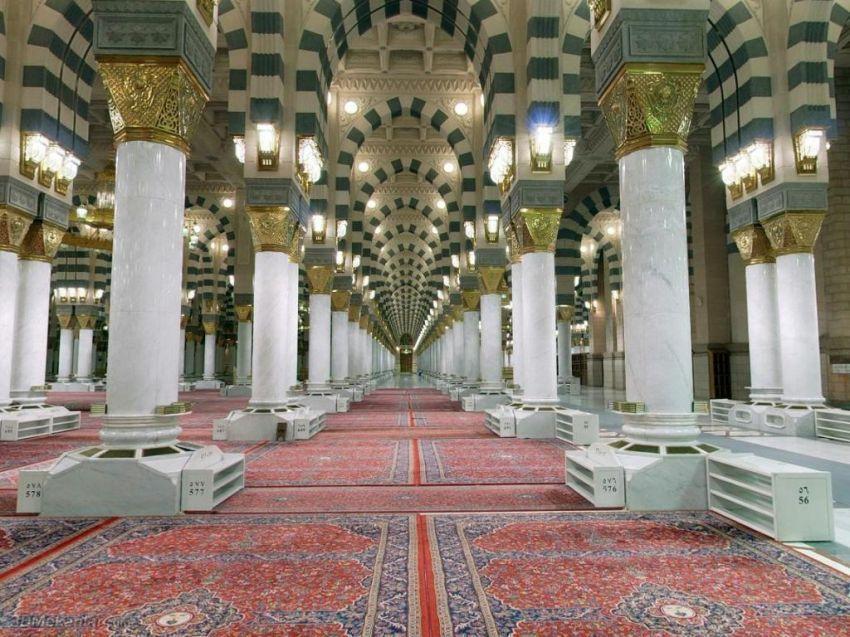 raudhah di masjid Nabawi