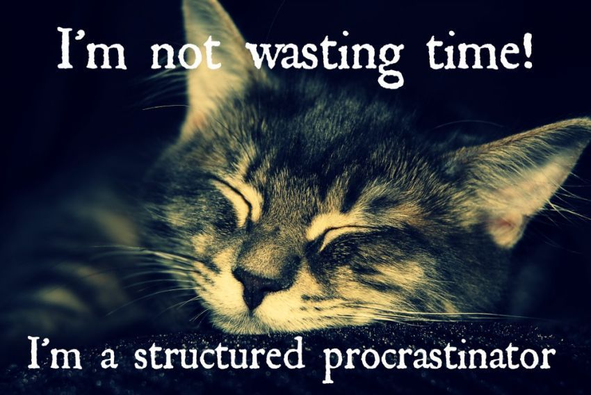 strutured procratination