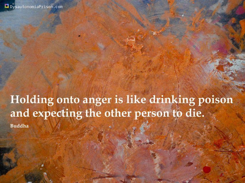 Menyimpan dendam akan menghancurkan dirimu sendiri