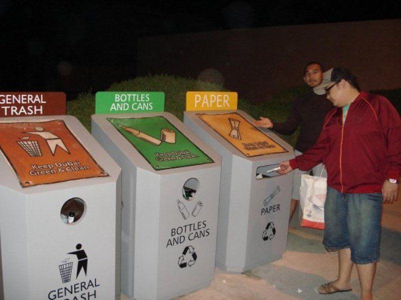 Tempat sampah yang memenuhi standar