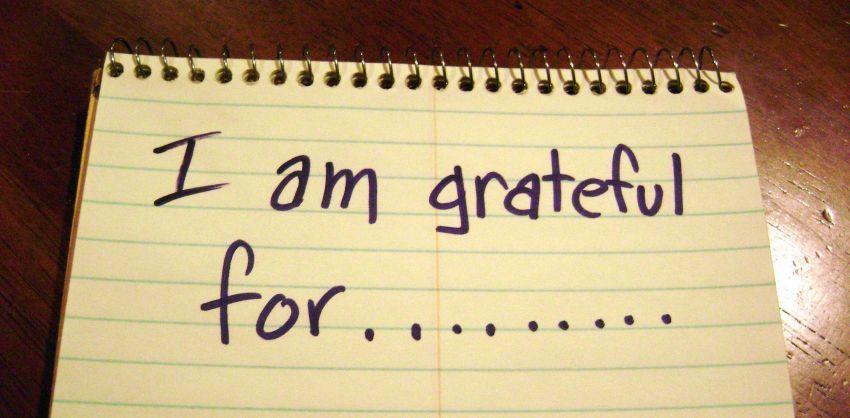 Catat minimal 3 hal yang kamu syukuri