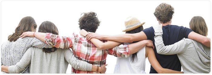 Kamutidak sendiri, ada teman dan keluarga yang menopangmu