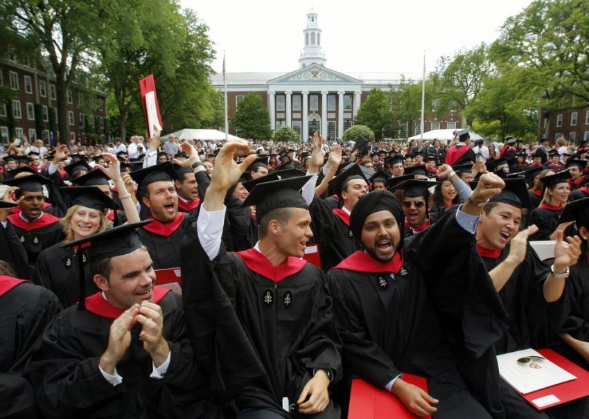 Wisuda program Master di Harvard Business School