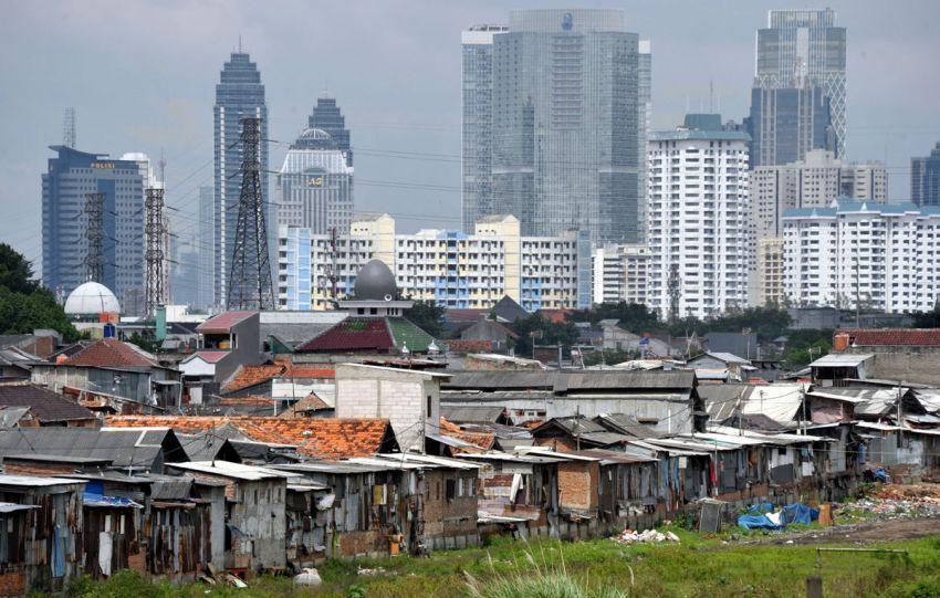 Gambaran ketimpangan pendapatan Indonesia