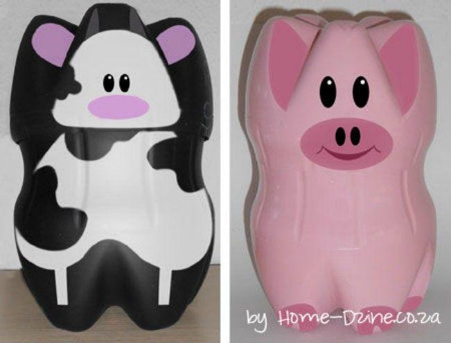 tabungan sapi dan babi ciptaan sendiri