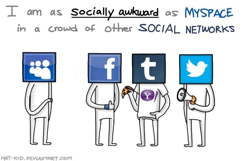 Socially awkward is your thing